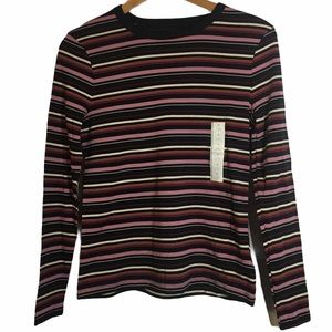 🌌2/$20 A New Day Long Sleeve Striped Shirt M
